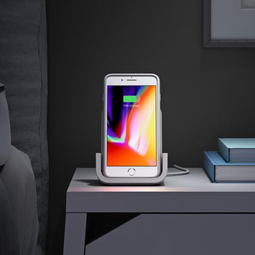 Вышла беспроводная зарядка для iPhone от Logitech
