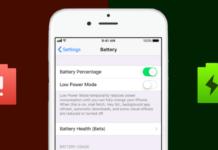 использование аккумулятора iPhone
