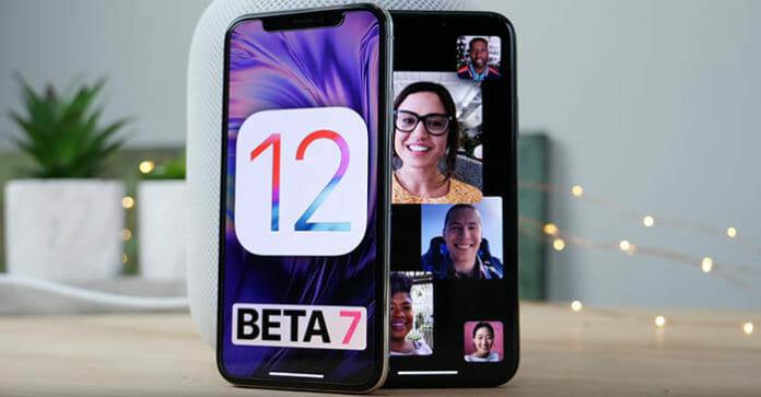 Apple отозвала iOS 12 beta 7