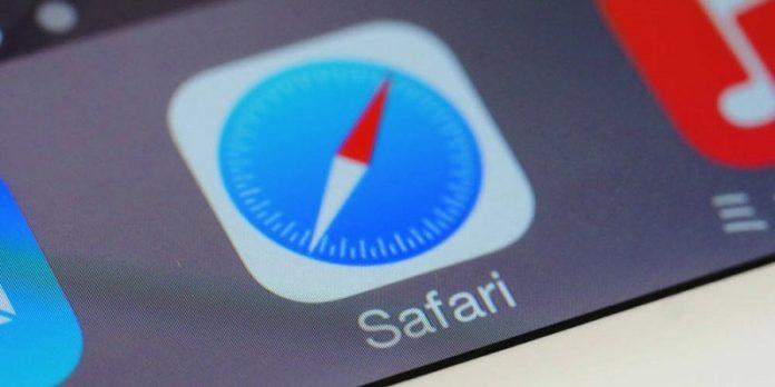 Safari на iOS 12