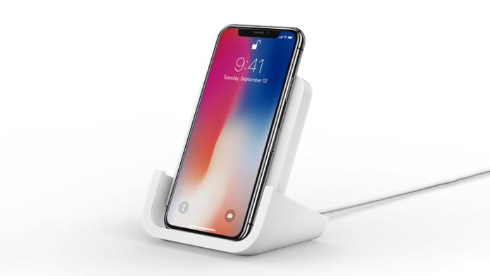 беспроводная зарядка для iPhone от Logitech
