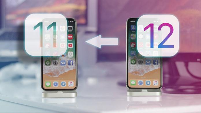 откатиться с iOS 12 на iOS 11