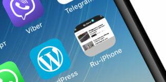 Ярлык сайта на домашнем экране iPhone