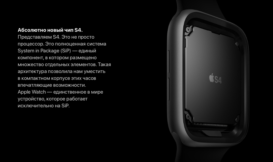 функции Apple Watch Series 4