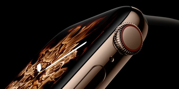 Haptic Crown на Apple Watch Series 4