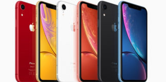 цвета корпуса iPhone Xr