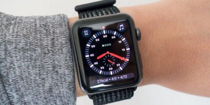 автономность работы Apple Watch