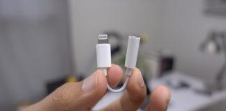 Apple убрала Lightning
