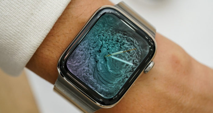 продажи Apple Watch Series 4