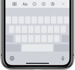 трекпад на iPhone без 3D Touch
