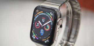Apple Watch Series 4 в корпусе из стали