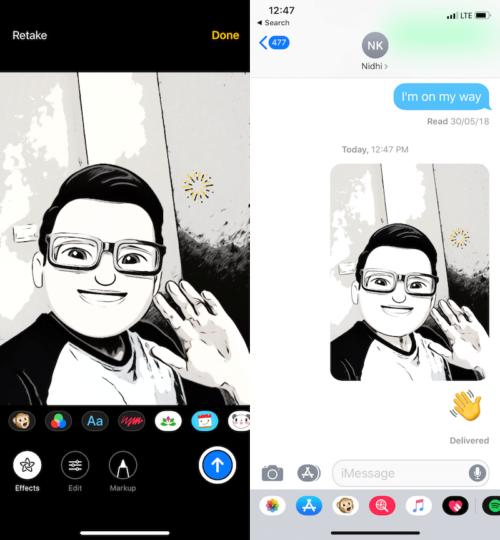 функции камеры в iOS 12