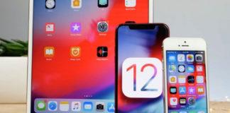 финальная версия iOS 12