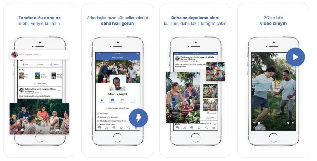 Facebook Lite для iOS