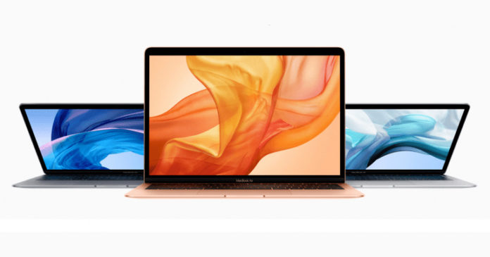 характеристики MacBook Air 2018