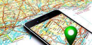 определение местоположения на iPhone или iPad