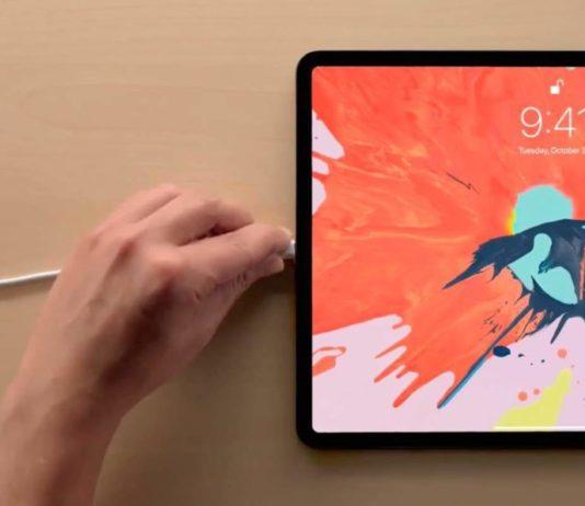 скриншот на iPad Pro 2018