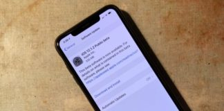 публичная бета iOS 12.1.2