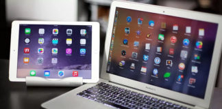 MacBook и iPad