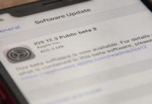 публичная бета iOS 12.3 beta 3