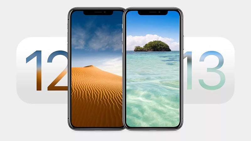 iOS 12 - iOS 13