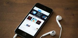 музыкальных приложений на iPhone