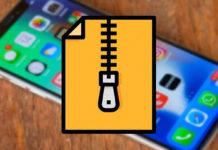 ZIP архив на iOS