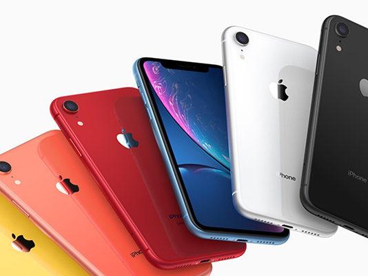 iPhone XR 2019 цвета