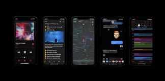 iOS 13 темная тема