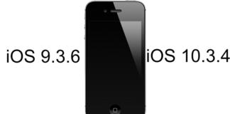 iOS 9.3.6 и 10.3.4
