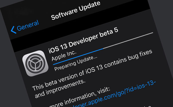 iOS 13 beta 4 iPadOS 13 beta 4
