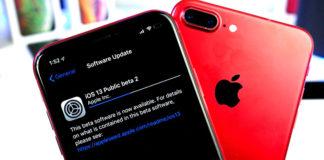 iOS 13 public beta 2
