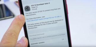 iOS 13 beta 3 для разработчиков