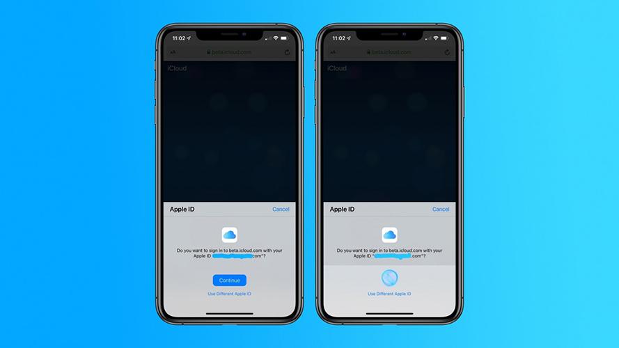 iOS 13 iCloud