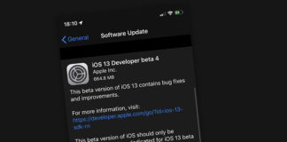 iOS 13 beta 4 iPadOS 13 beta 4