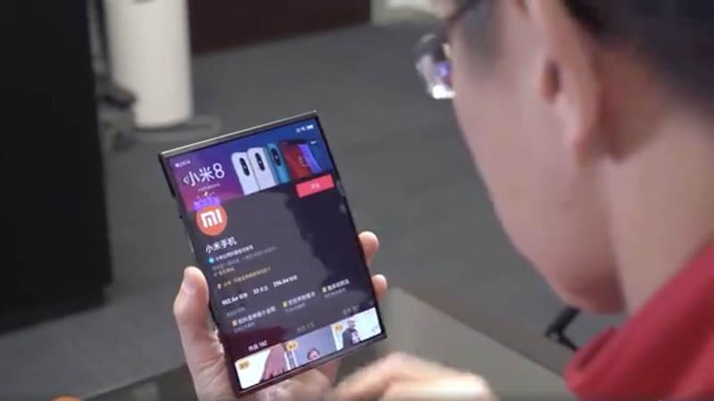 Xiaomi Mix Flex гибкий смартфон