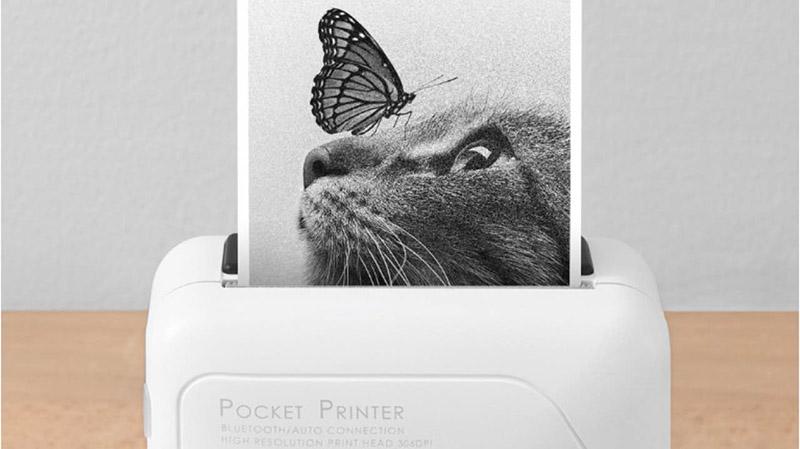 Youdao Memobird G4 — карманный принтер от Xiaomi