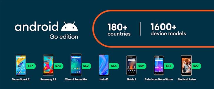 Android 10 Go Логотип