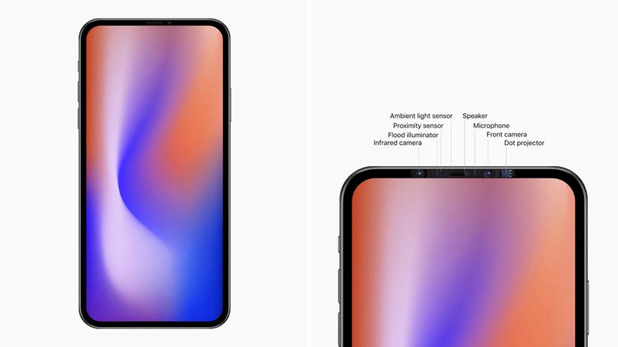 Дизайн концепт iPhone 2020