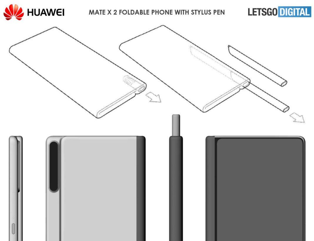 Huawei Mate X2 патент