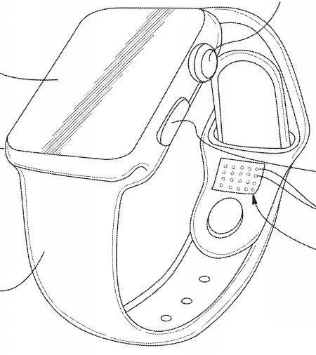 Патенты на ремешки Apple Watch