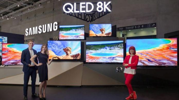 Samsung телевизор 8K QLED