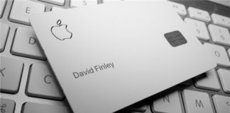 Apple Card из титана