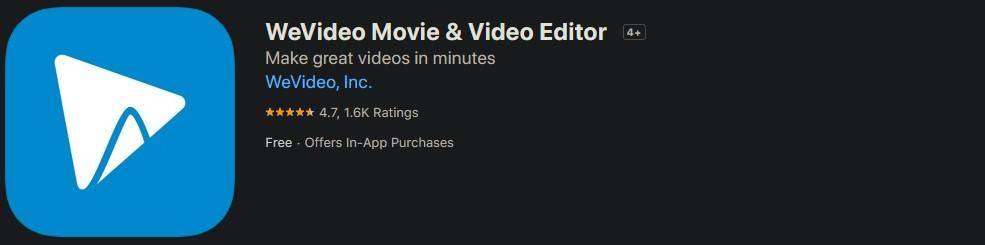 Приложение WeVideo