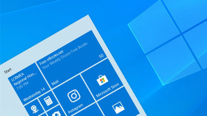 Windows 10 20H1 Build 18975