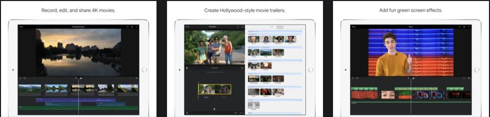 Приложение iMovie