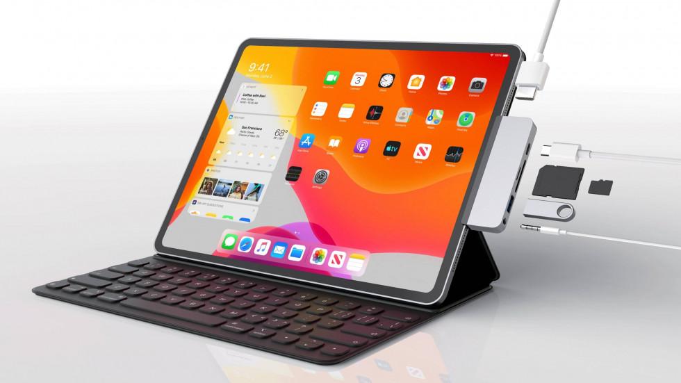 iPad поддержка SSD