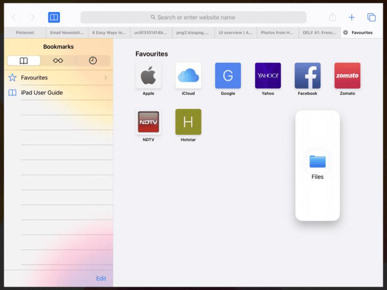 Как открыть несколько приложений в Slide Over на iPadOS