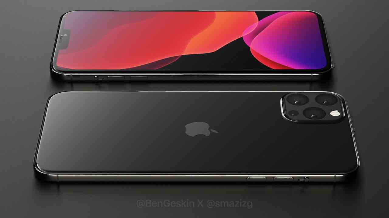 Концепт Apple iPhone 2020