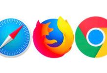 закладки Safari, Firefox и Chrome